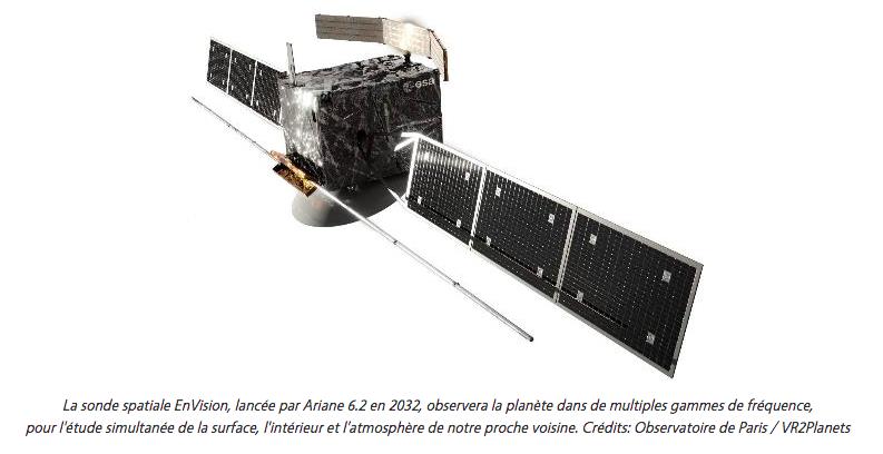 EnVision Vénus Observatoire de Paris