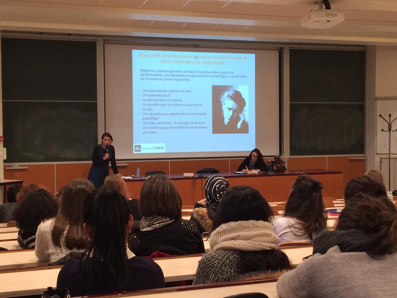1ere rencontre du genre Marie Curie 2
