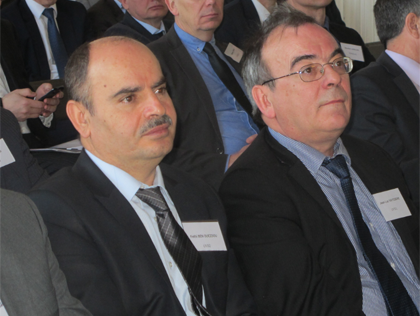 Fethi Ben Ouezdou et Jean-Luc Vayssière