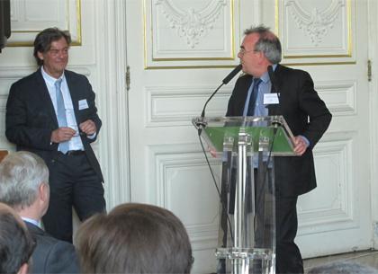 Antoine Mullender et Jean-Luc Vayssière