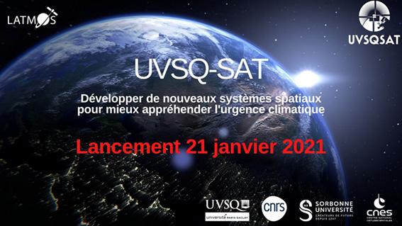 Lancement 21 janvier 2021 UVSQ-SAT