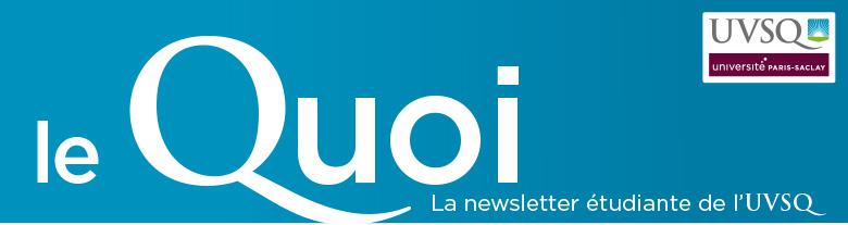 Bandeau newsletter UVSQetu