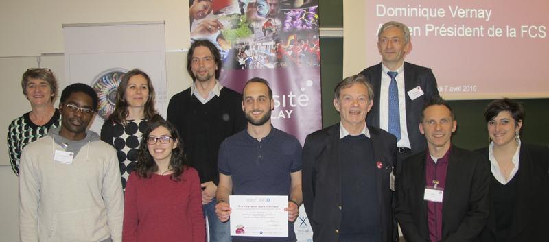 Prix innovation jeune chercheur - Handiversité 2016